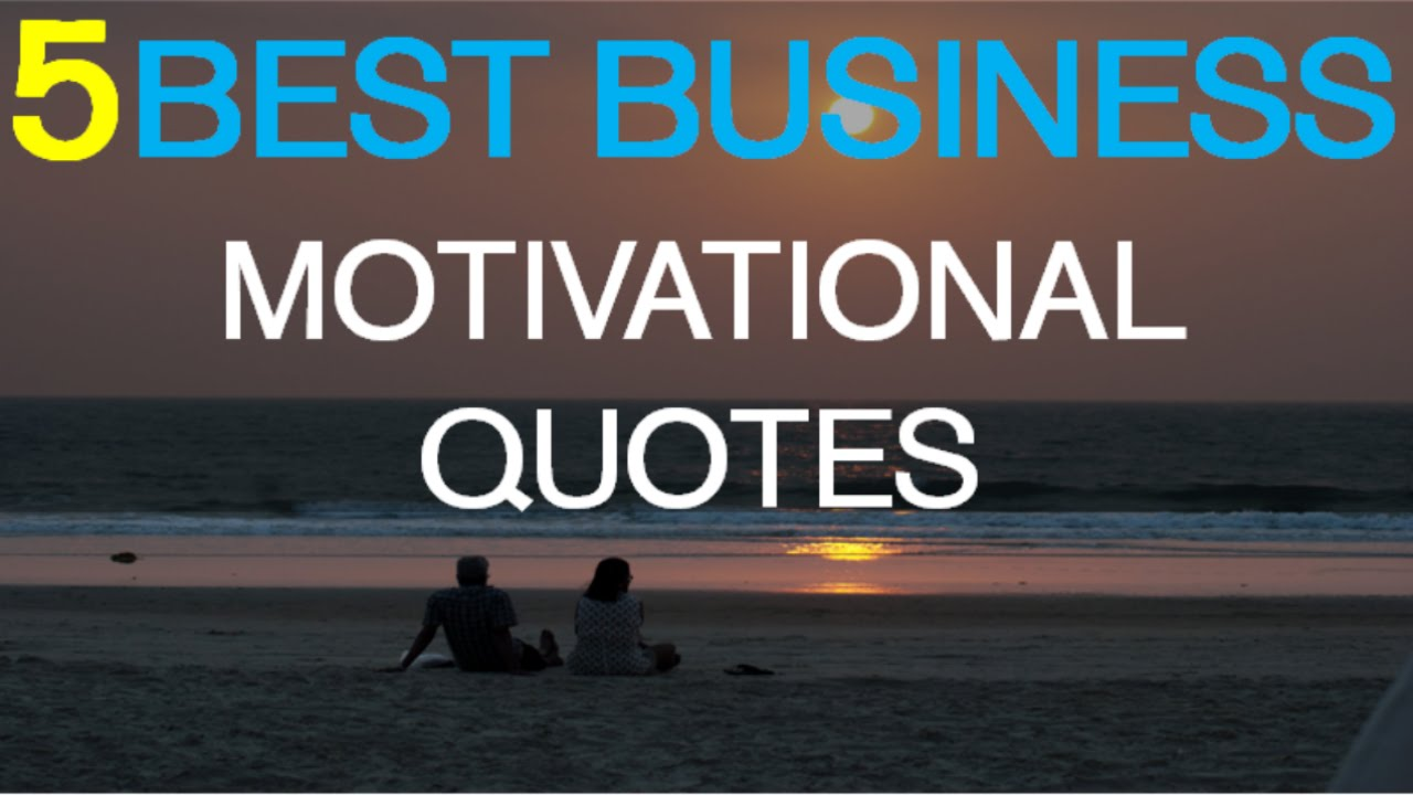 Business Motivational Quotes