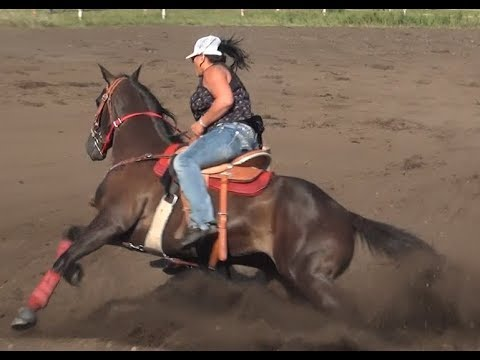 Barrel Racing series #6 from McHenry County Saddle Club