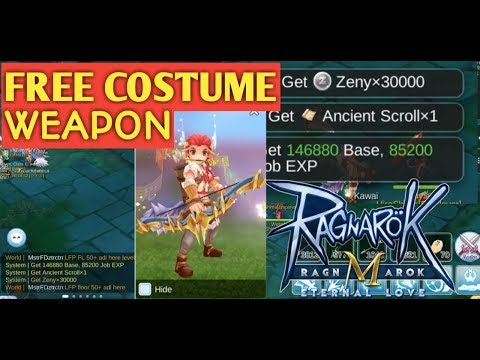 How to Get Ancient Scroll For Costume Weapon : Ragnarok Eternal Love
