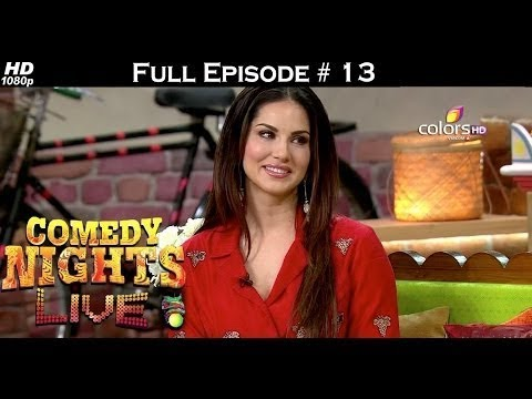Comedy Nights Live - Sunny Leone - 1st May 2016 - Full Episode (HD)