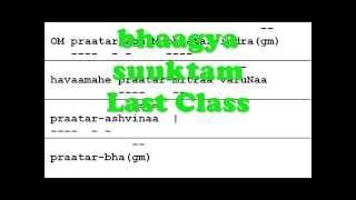 Bhagya Suktam Class VI