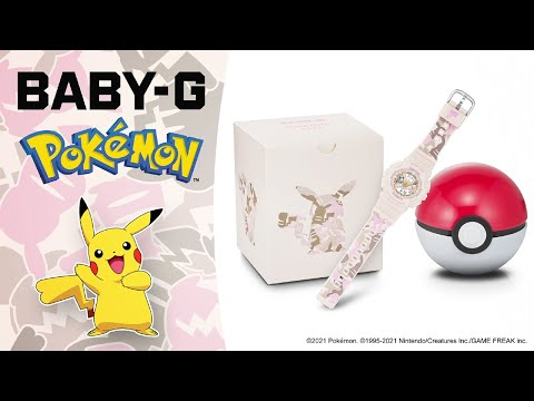 CASIO BABY-G Pokémon Collaboration