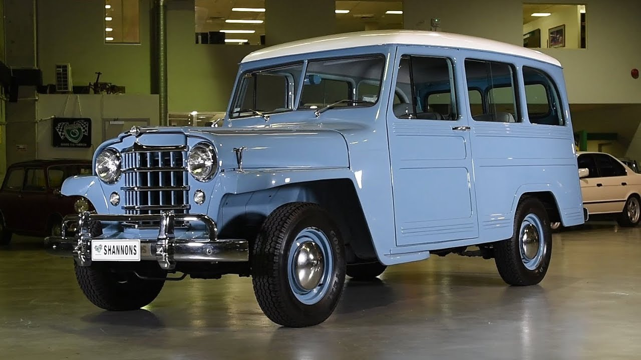 1951 Willys Overland 4x2 Station Wagon (RHD) -  2018 Shannons Sydney Winter Classic Auction