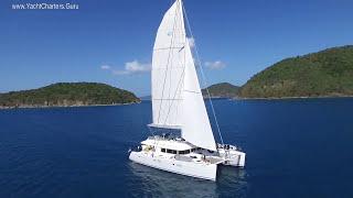 Tell Star 62' Lagoon Catamaran Crewed Yacht Charter Vacations