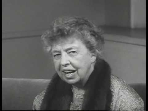 Eleanor Roosevelt  Human Rights Speech