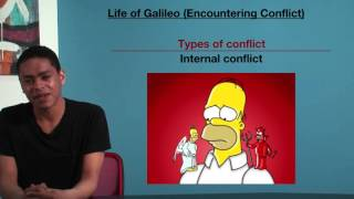 VCE English - Life of Galileo (Encountering Conflict)