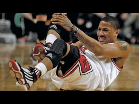 bb3185f41cc Derrick Rose Injury Complimation - YouTube
