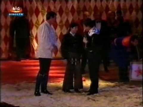 Entrevista a Victor Hugo Cardinali e Hugo Cardinali no Circo de Natal 2002