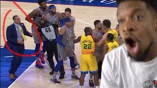 LMFAOO STEPHEN A SMITH FIGHTS EMBIID & BLEDSOE! BUCKS vs SIXERS HIGHLIGHTS