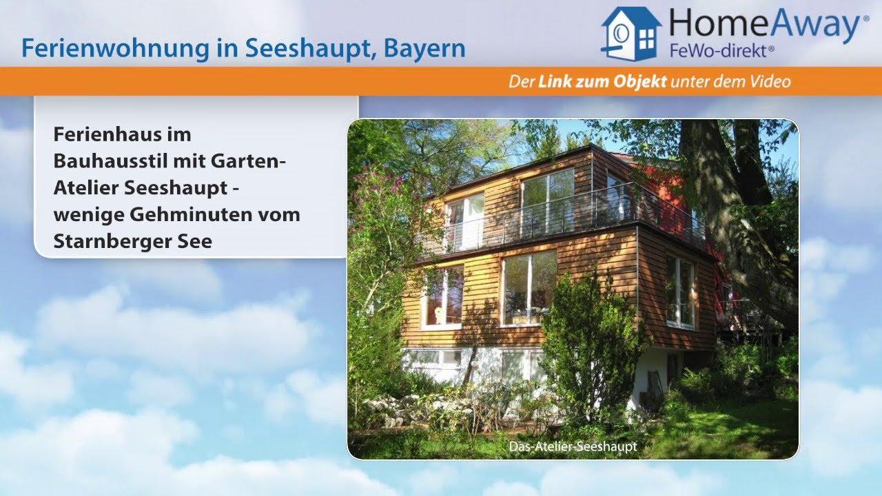 Garten Bauhausstil oberbayern ferienhaus im bauhausstil mit garten atelier seeshaupt