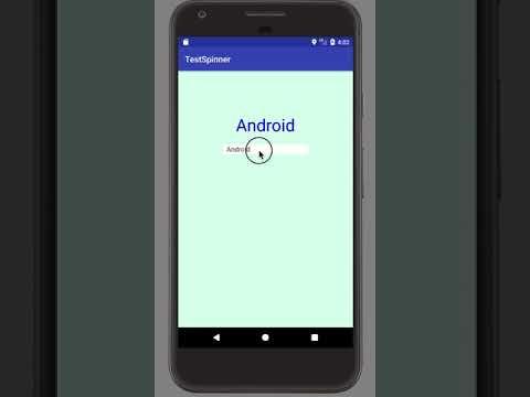 Android & Kotlin] プルダウンで項目選択できるSpinnerを設定