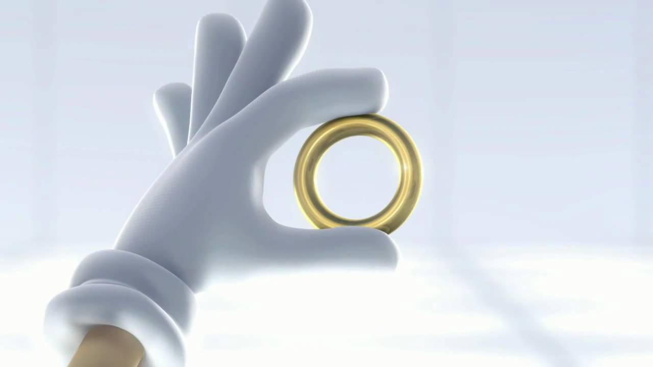 Sonic Ring Toy