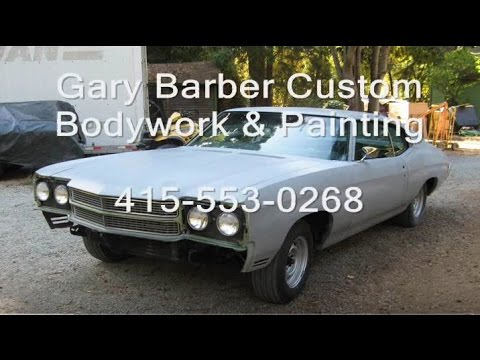 Gary Barber Prepping and Painting a 70 Chevelle