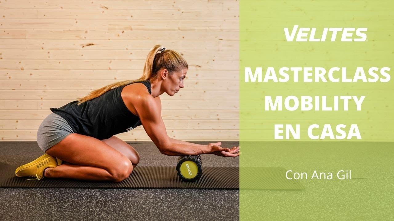 Ana Duato Piernas master class de movilidad en casa con ana gil | velites