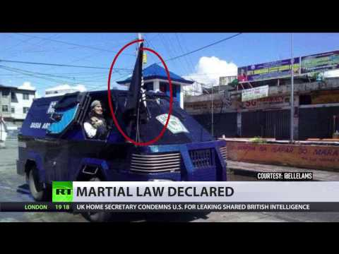 ISIS crisis in Philippines: Duterte declares martial law in Mindanao