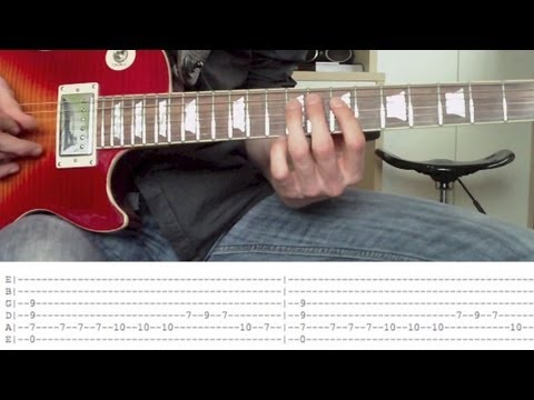 How To Play Sail By Awolnation On Guitar With Tabs Youtube