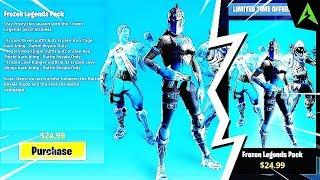 When * Frozen Legends Pack * in Fortnite..