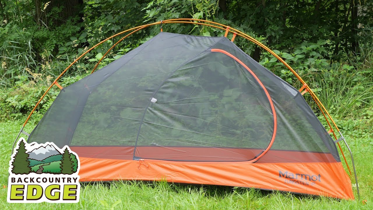 Marmot Tungsten 1P Backpacking Tent - YouTube 8f8c76387644