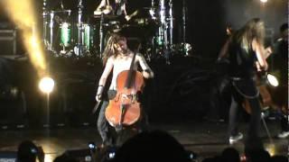 Apocalyptica - Seek & Destroy (Metallica Cover) - Medellin 2012-01-21