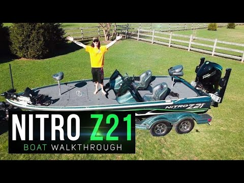 I BOUGHT MY DREAM BOAT! 2019 Nitro Z21 Boat Walkthrough