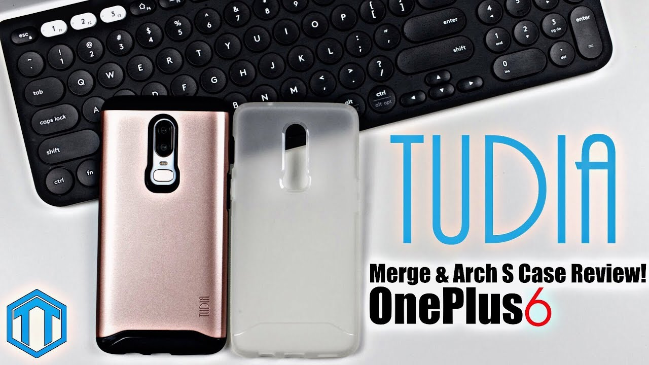 finest selection 07d23 56277 OnePlus 6 Tudia Merge & Arch S Case Review!