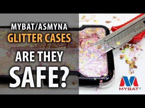IS IT SAFE? Quicksand Liquid Glitter Phone Cases | MYBAT & ASMYNA