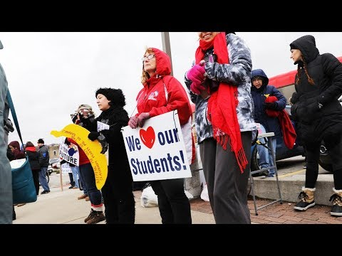 Why A Red State Had A HUGE Teachers Strike