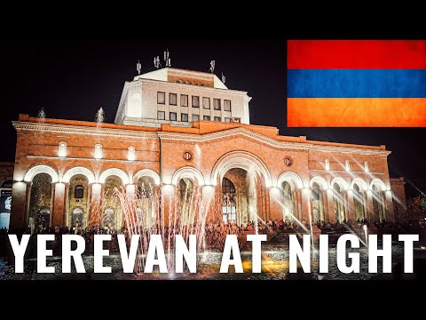 Visit Yerevan Nightlife | City Tour 2019 (4K)