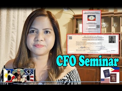 K1 Visa CFO Seminar Experience and Tips! Certificate and Sticker!