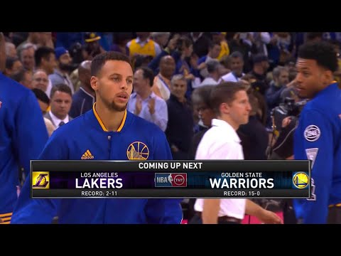 [Ep. 06/15-16] Inside The NBA (on TNT) Game Break – Lakers vs. Warriors Preview - 11-24-15