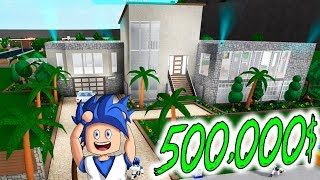 MY NEW *SUPER HOUSE* OF $500,000 ? BLOXBURG ? ROBLOX