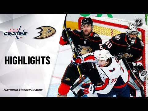 NHL Highlights   Capitals @ Ducks 12/6/19