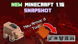 *NEW* Minecraft 1.16 NETHER UPDATE SNAPSHOT! - New Updates & Secrets