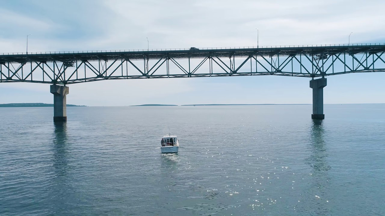 Preview image for High-frequency Radar at the Straits of Mackinac video
