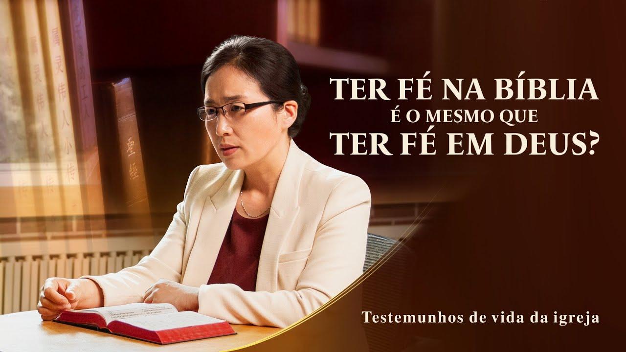 """Testemunho evangélico 2020 """"Ter fé na Bíblia é o mesmo que ter fé em Deus?"""""""