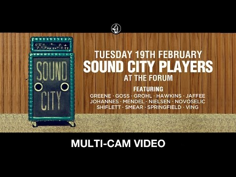 Sound City Players - Live At The Forum, London - 19th Feb 2013 (Multi-cam)