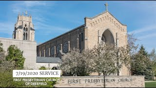 FPCD Sunday Service July 19th 2020