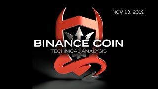 Binance Coin Technical Analysis (BNB/USDT) : Shaping Up...  [11.13.2019]