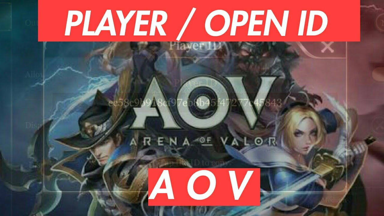 Garena Aov Open Player Id How To Get Them Youtube