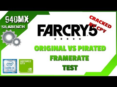 Far Cry 5 | Original vs Pirated | Framerate test + Link download 100% works