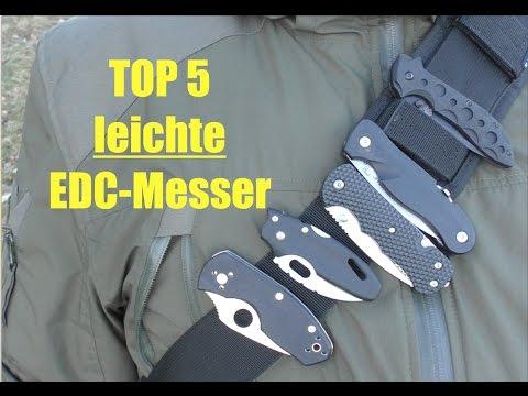 Meine Top 5 Mini EDC Messer (leicht und kompakt)