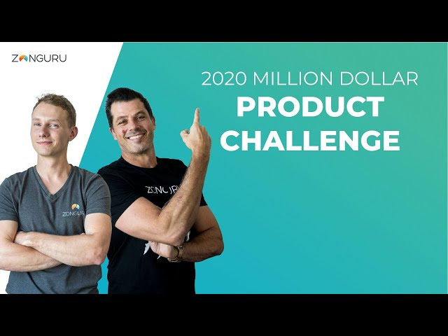 Join the 2020 Million Dollar Product Challenge!