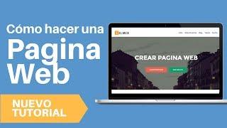 Como Crear Pagina Web 2017 - Tutorial Wordpress Español
