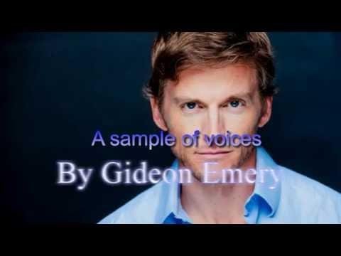 Gideon Emery Voices