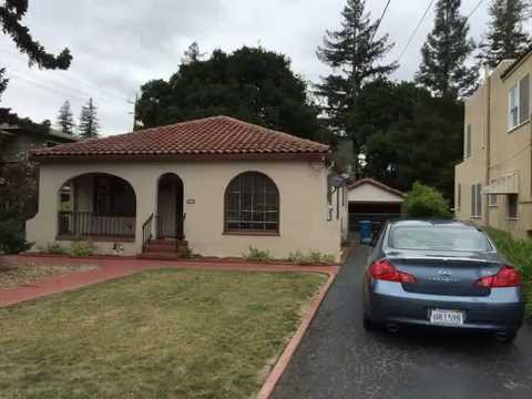Menlo Park Home For Lease $4,500 RENTED