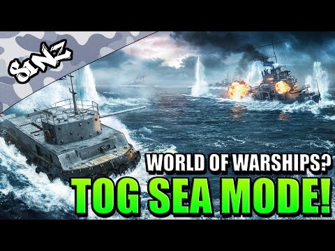 TOG SEA MODE!!! (World of Warships?) - World of Tanks Console | April Fool's 2016