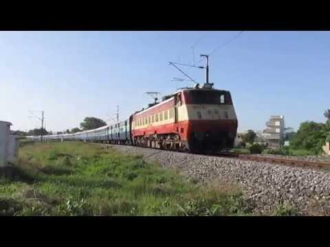 22643 Ernakulam-Patna Super Fast Express with AJJ WAP-1!