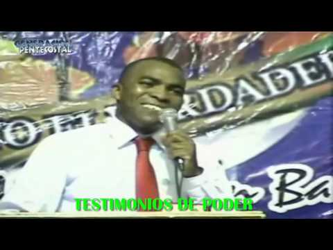 TESTIMONIOS DE PODER  PASTOR JUAN CARLO SOTO