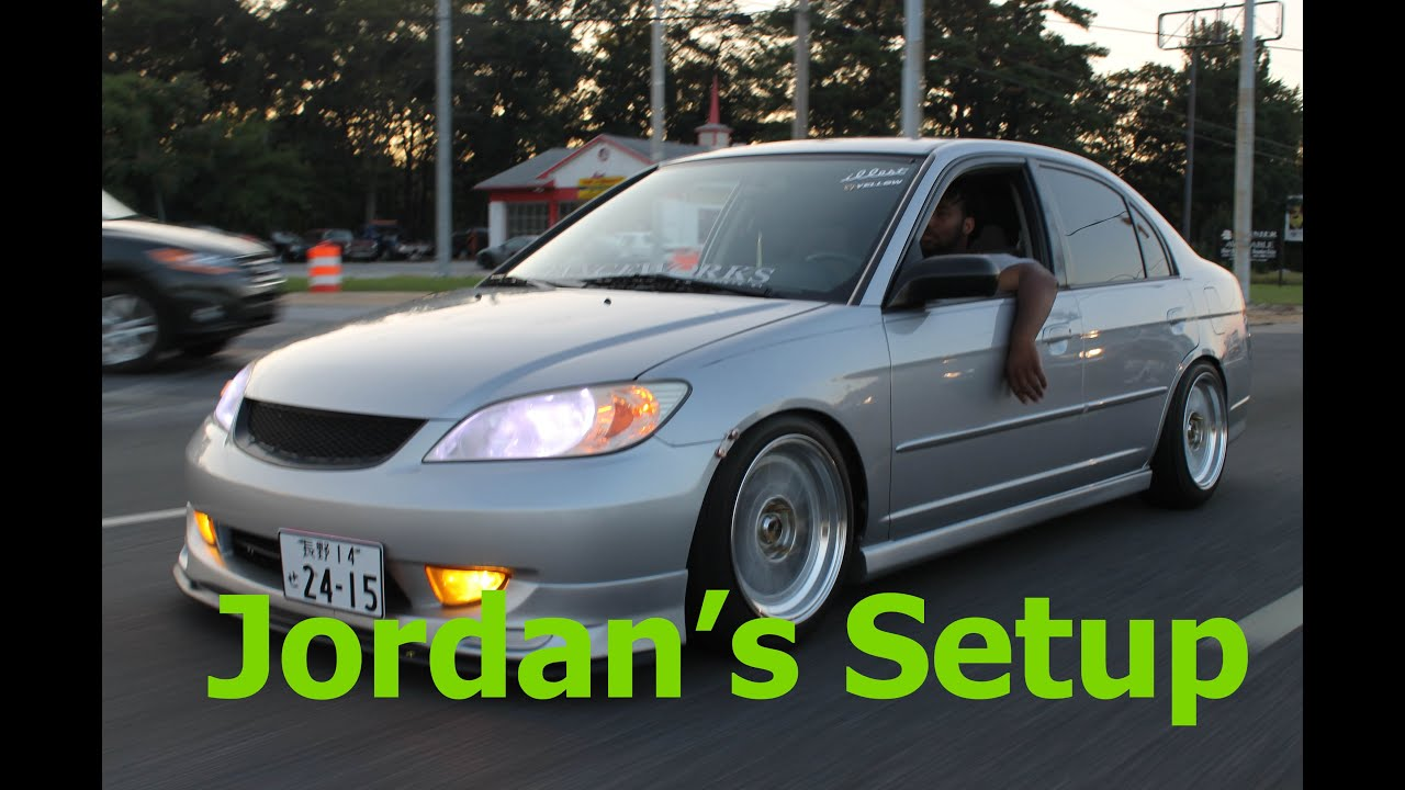 Jordan's Honda | 2005 Civic ES1/Es2/Em2 - YouTube