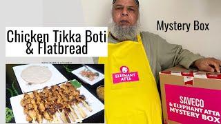 Chicken Tikka Boti &amp Flatbread Recipe  Mystery Box